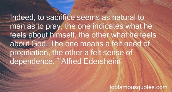 Quotes About Sacrifice In The Bible