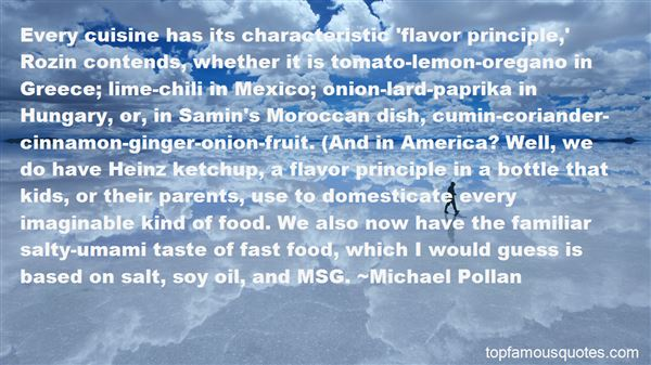 Quotes About Salty Food