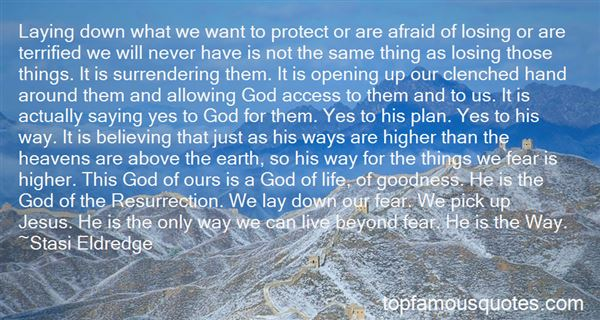 Quotes About Saying Yes To God