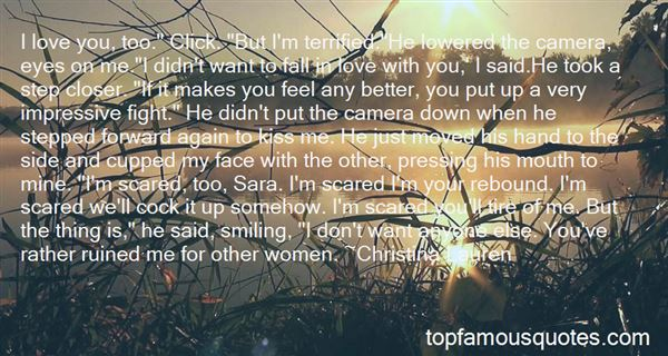 Quotes About Scared To Fall In Love