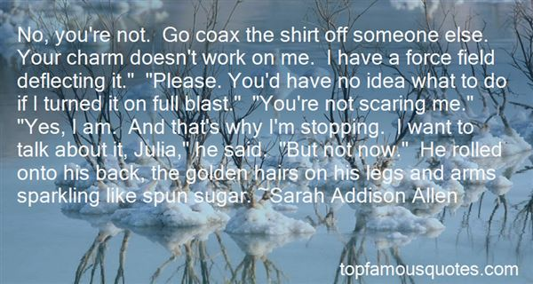 Quotes About Scaring Someone