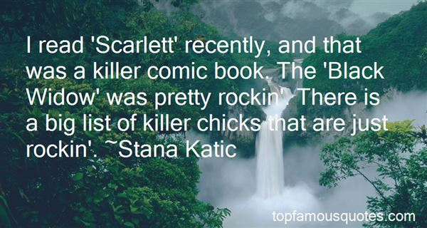 Quotes About Scarlett