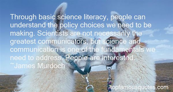 Quotes About Science Communication