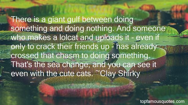 Quotes About Sea Change