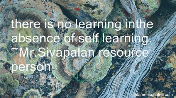 Quotes About Self And Learning