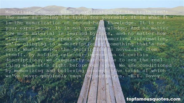 Quotes About Self Description