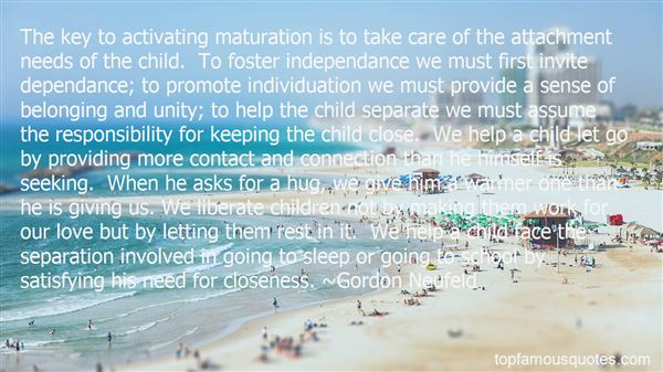 Quotes About Separation From Child