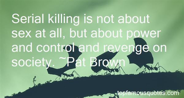 Quotes About Serial Killing