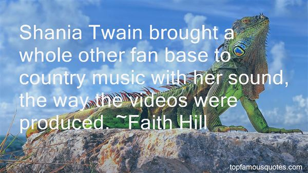Quotes About Shania Twain