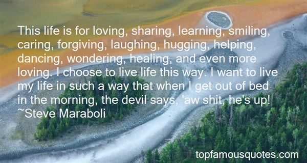 Quotes About Sharing Life