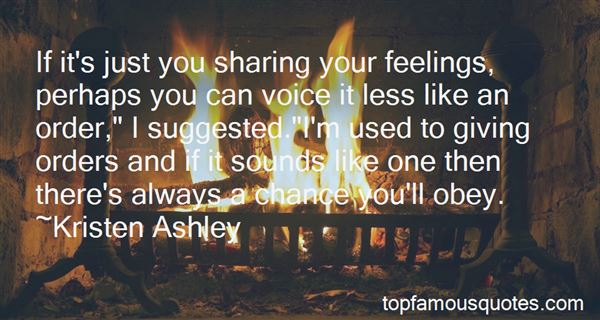 Quotes About Sharing Your Feelings