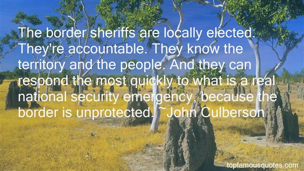 Quotes About Sheriffs