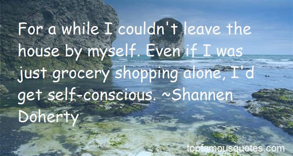 Quotes About Shopping Alone