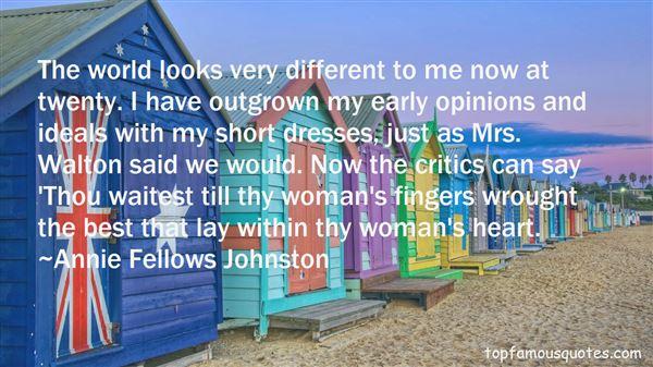 Quotes About Short Dresses