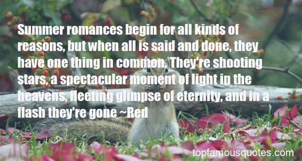 Quotes About Short Lived Romances