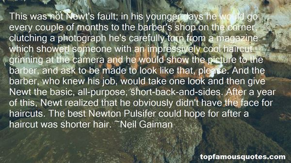 Quotes About Shorter Hair