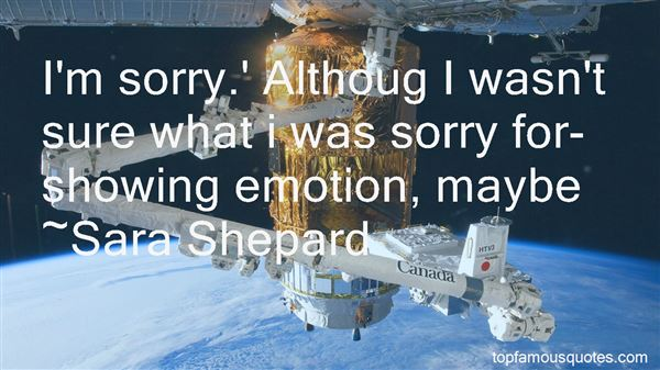 Quotes About Showing Emotion