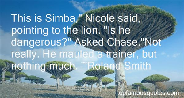 Quotes About Simba