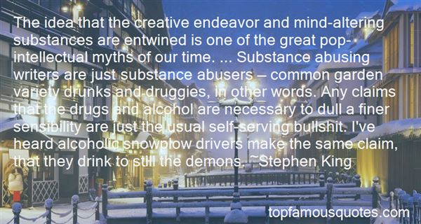 Quotes About Sloppy Drunks