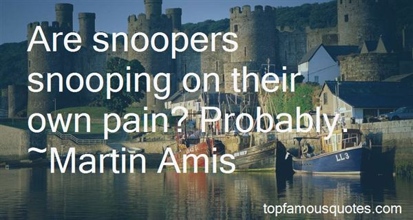 Quotes About Snoopers