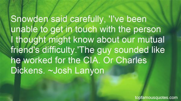Quotes About Snowden