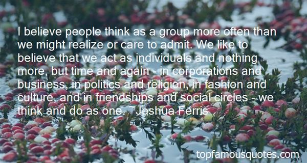Quotes About Social Circles
