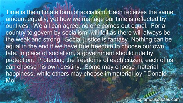 Quotes About Socialism Freedom
