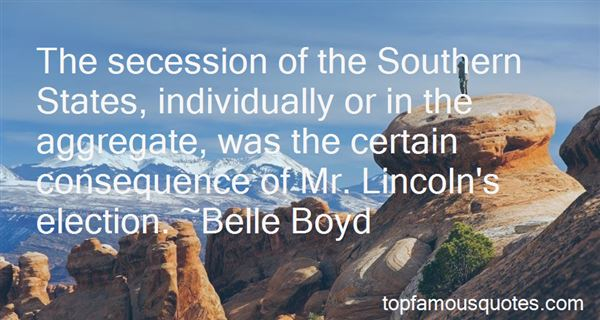 Quotes About Southern Secession