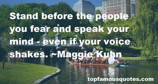 Quotes About Speak Your Mind