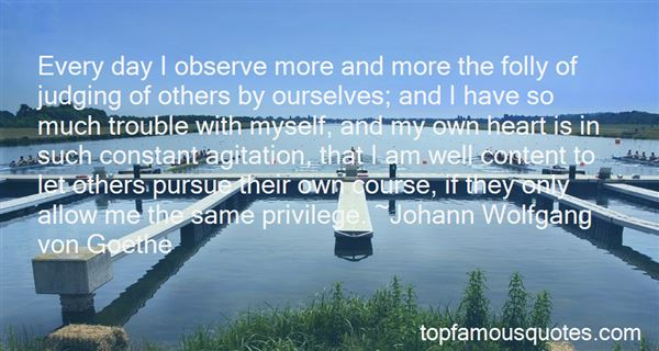 Quotes About Spoiling Others Life