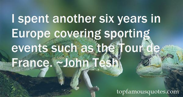 Quotes About Sporting Finals