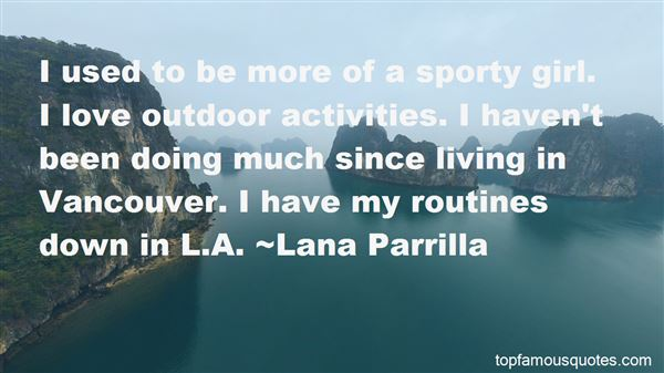 Quotes About Sporty Girl