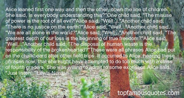 Quotes About Standing Alone In The World