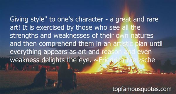 Quotes About Strengths Of Character
