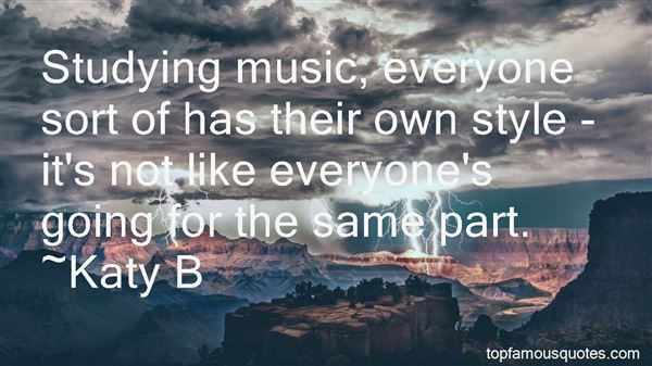 Quotes About Studying Music