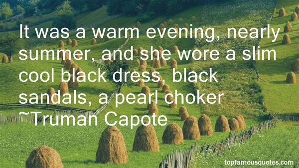 Quotes About Summer Dress