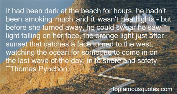 Quotes About Sunset And Ocean