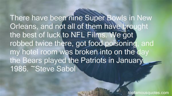 Quotes About Super Bowl Food
