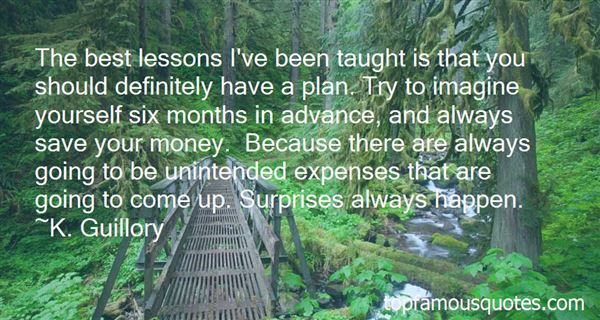 Quotes About Surprises In Gifts