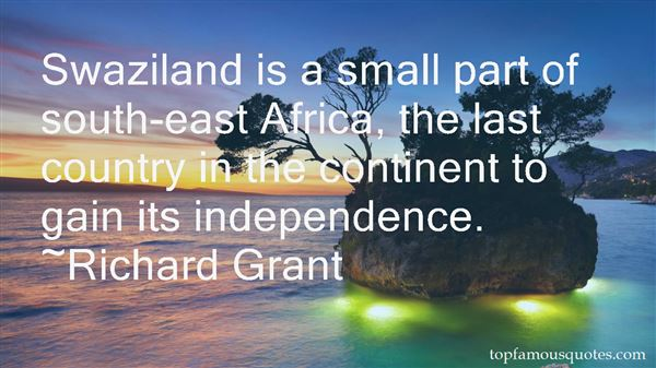 Quotes About Swaziland