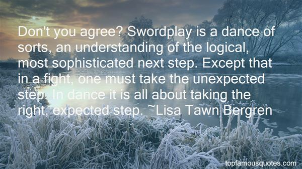 Quotes About Swordplay