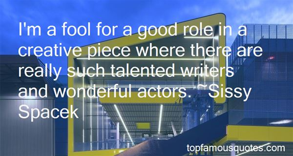 Quotes About Talented Writers