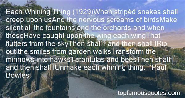 Quotes About Tarantulas