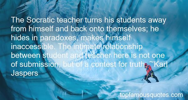 Quotes About Teacher And Student Relationship