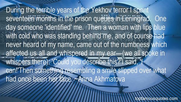 Quotes About Terror Professors