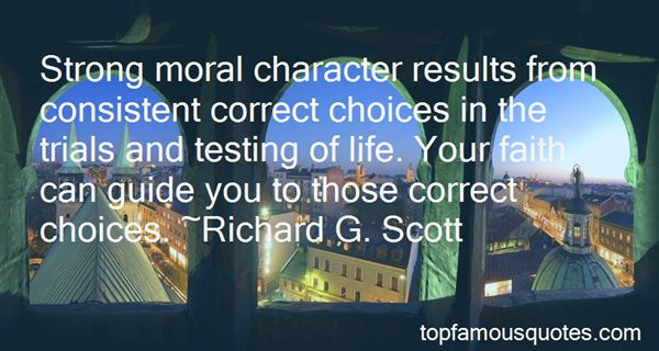 Quotes About Testing Your Character