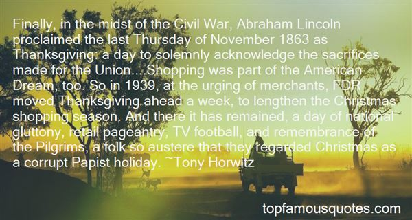 Quotes About Thanksgiving Abraham Lincoln
