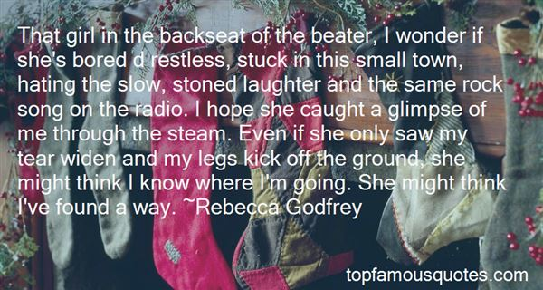 Quotes About The Backseat