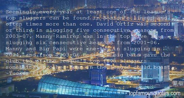 Quotes About The Barclays Premier League