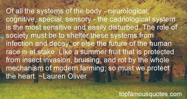Quotes About The Body Systems